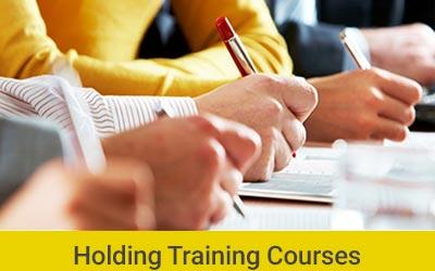 Holding Training Courses